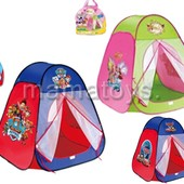 Палатка детская. 80х80х90см. 815, 817 s. Щенячий патруль, Винкс, Тачки.
