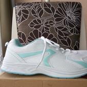 Кроссовки белые с мятным новые р. 42