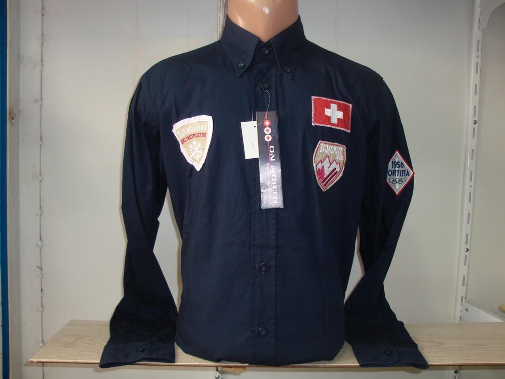 Распродажа! Мужская рубашка с длинным рукавом Vancouver Ski. Разные цвета.   фото №1