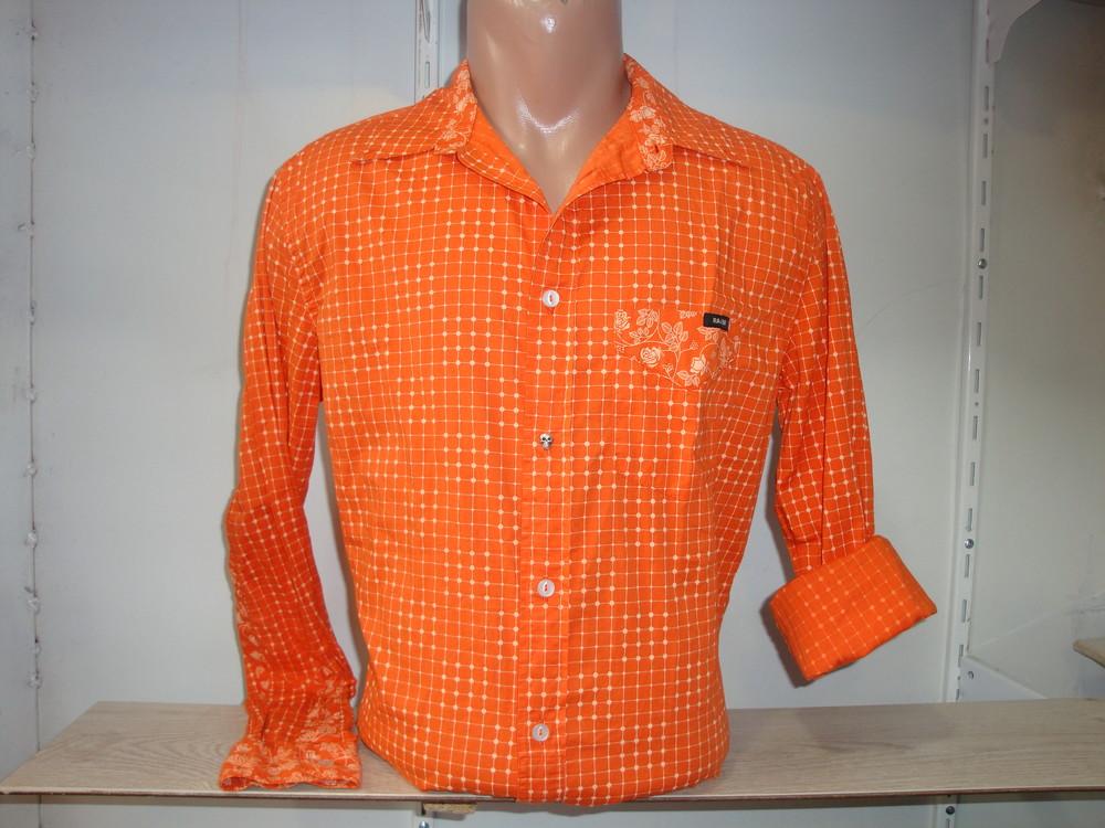 Мужская рубашка с длинным рукавом raer фото №1