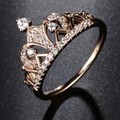 Кольцо в форме короны код 1396