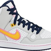 Кроссовки Найк Nike  son of Force mid высокие кожа 38 р 24,5 см