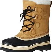 40 р. Зима. Sorel Caribou waterproof Boot. Кожа