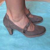 Paul Green (39, стопа 25 см) кожаные туфли женские