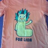 фирменная футболка унисекс на 2 года