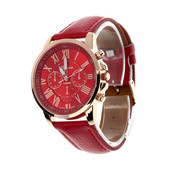 1-31-3 Наручные часы Geneva цвет - красный