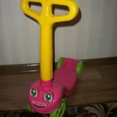самокат детский четырёхколёсный