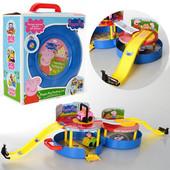Игровой набор Парковка, гараж XZ-376 Свинка Пеппа