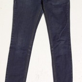 Zara. Узкие джинсы скинни с молниями внизу. Размер: 26 / 27