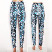Модные принтованные брюки   PN33012