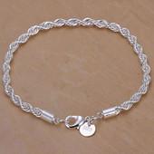 Браслет покрытие стерлинговое серебро