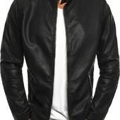 Супер стильная мужская кожаная куртка