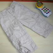 Штаны с трикотажной подкладкой