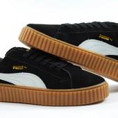 Мужские замшевые кроссовки Пума 1602-3