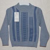Качественный свитер мальчику(хорошие отзывы) разм: 74-80;и 86-92; См. замеры