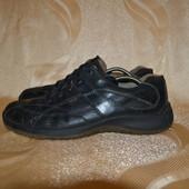 кожаные туфли ecco walkathon, р. 44