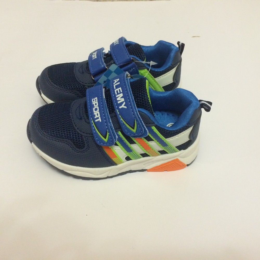Кроссовки для мальчика синие alemy kids фото №3