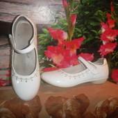 белые туфли школьные стелька 22 см