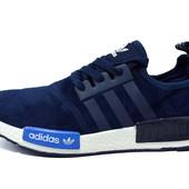 Кроссовки Adidas Die With The 74 ( синие, черные)