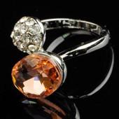 Кольцо с кристаллом код 473