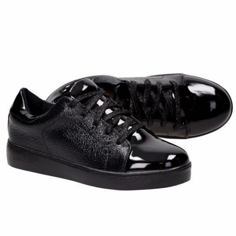 Черные кеды (экокожа) с лаковым носком, цена 500 грн. купить 743072 ... 3689f715daa