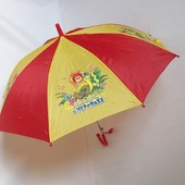 Зонтик с героями м/ф, полуавтомат