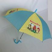 Зонтик для маленьких детей  до 4 лет с героями м/ф