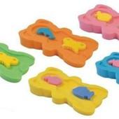 Поролоновые матрасики для купания малышей