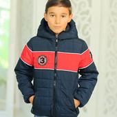 Стильная деми куртка на мальчика