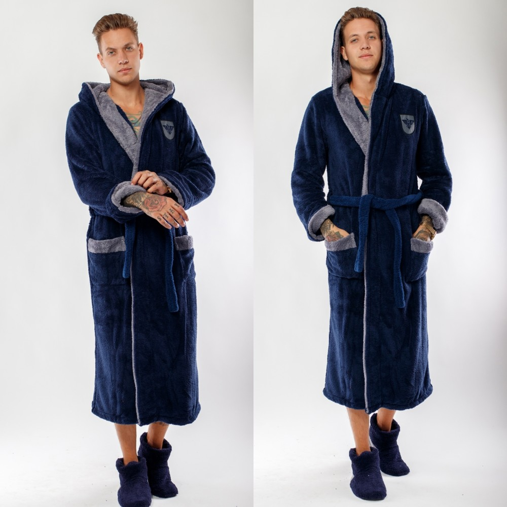 Мужские махровые халаты производство турция фото №1