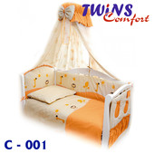 Постельный к-т (8ед) Twins - Comfort Африка 3 цвета