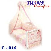 детский постельный комплект (8ед) Twins - Comfort Медведи и звездочка 3 цвета