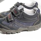 Кожаные полуботинки кроссовки Clarks 21-21,5 размер