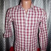 Стильная, фирменная рубашка Topman р. S Индия.
