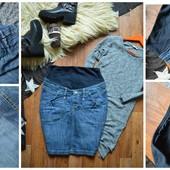 Идеальная джинсовая юбка для беременных, р-р М