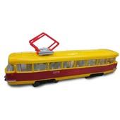 Модель - Городской трамвай(свет, звук)в нетоварной упаковке