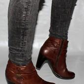 Ботинки 41 р. 5th Avenue Франция кожа, оригинал демисезон.