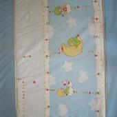 Матрасик в детскую кроватку и постельное белье