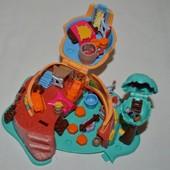 Домик дом Polly Pocket Bluebird для малюсеньких маленьких куколок карманный принцессы Покахонтас