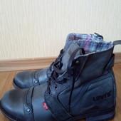 Кожаные ботинки Levis 40