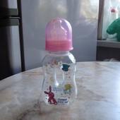 Бутылочка для кормления Canpol babies 120 мл с соской NUK