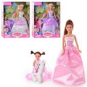 Кукла DEFA мама с дочкой и пони