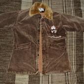 Пальто для девочки р.116 см