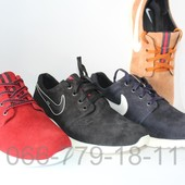 Мужские замшевые кроссовки, разные цвета