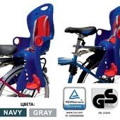Велокресло/ Разные модели. Крепление спереди и сзади,  до 22кг.