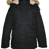 зимняя куртка парка на мальчика 6-16 лет