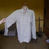 Рубашка-сорочка льон+котон на 50 розмір