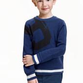 Утеплённый свитшот H&M 4-6 лет