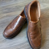 Кожаные итальянские туфли 42 р-р