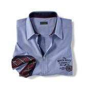 Рубашка оксфорд 43/44 XL tcm Tchibo Германия